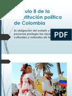 Diapositivas Articulo 8 Constitución Política de Colombia