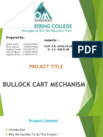 Bullock Cart With Mechanism Ppt