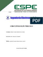 Informe circuitos Eectricos.docx