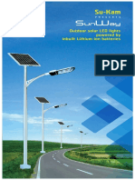 Sukam Solar Street Light