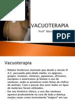 eletroterapia - VACUOTERAPIA