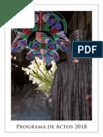 Programa Fiestas Almansa 2018