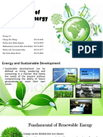 Principle of Renewable Energy
