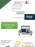 Desfibrilador Cardiaco Y MARCAPASOS