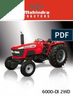 manual tractor mahindra 600