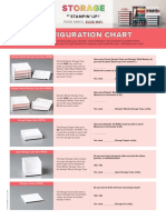 Storage by Stampin' Up Configuration Chart