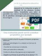Los propósitos de la evaluación educativa