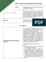 Aprendizaje Basado en Proyectos_Fuentes de Alimentación de Voltaje