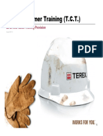 Terex Customer Training - TCT