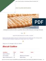Biscuit Cuillère – Saveurs Innovations-J-Claude Montauriol Pâtissier
