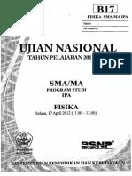 2012 UN Fisika B17 (1)