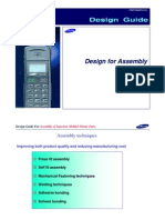 Plastic Design - Sumsung-Design Guide for Assembly of Injection Molded Plastic Parts