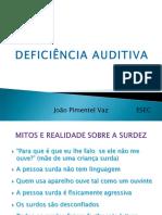 Def Auditiva JVaz Powerpoit