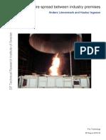 Fire Spread Between Industry Premises