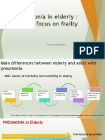 Pneumonia in elderly +