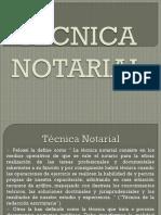 Técnica Notarial