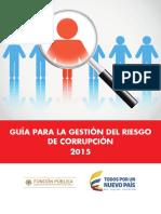 Guia de Gestion Del Riesgo 2015