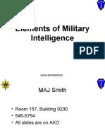 Elements of Intel MAY09- AKO 1 of 2