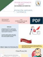 Hipertensión Arterial Sistemica Equipo 3