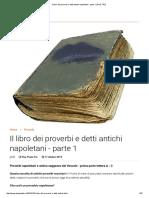 Il Libro Dei Proverbi e Detti Antichi Napoletani - Parte 1 _ DUE