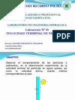 Laborat 1- Ingenieria Hidraulica 2019-1