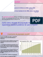Populacao Mundial