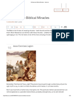 10 Awesome Biblical Miracles - Listverse