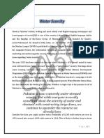 Water Scarcity.docx