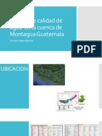 Análisis de Calidad de Agua en La Cuenca
