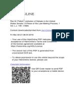 Rex M. Potterf Limitation of Debate in the United states senade.pdf