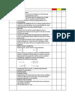 Unit 2 Checklist Mechanics Materials and Waves
