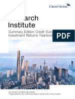 Csri Summary Edition Credit Suisse Global Investment Returns Yearbook 2019