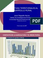Alternativas Desarrollo Rural