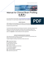 Manual for Clinical Brain Profiling