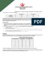 IO2 UPC Final 16-1 y Clave de Respuestas