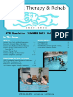 Aquatic Therapy  and Rebabilitation