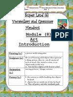 Vocabulary and Grammar Handout, M(10).docx