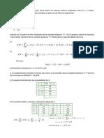 Taller Distribución de Probabilidad, Valor Esperado y Varianza