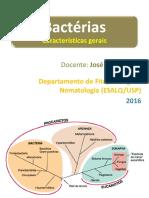 Bacterias - Caracteristicas Gerais