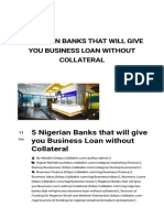 5 Nigerian Banks That Will Give You Business Loan Without Collateral _ Abbakin