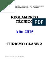 Reglamento Tecnico 2018 - Clase 2