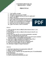P R Protocolo TCP IP
