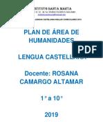 PLAN DE ÁREA DE LENGUA CASTELLANA PRIMARIA - BACHILLERATO 2019.pdf