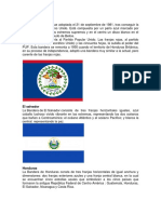 Banderas de Centroamerica y Significado