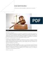 URISPRUDENCIA DESTACADA de estafa.docx
