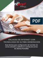 PuntoNet configuracion correo POP IMAP