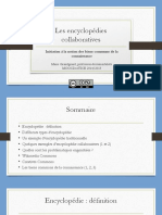 Les Encyclopédies Collaboratives
