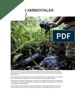 Delitos Ambientales en Perú
