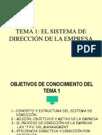 La Direccion de Empresas