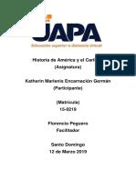Geografía Dominicana II Actividad 3 Katherin